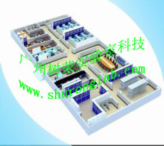 实验室设计 实验室家具设计 通风系统设计