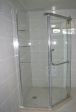 淋浴屏風工程 淋浴房工程 簡易淋浴房工程