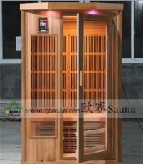 红雪松频谱房 香杉木碳板房 铁杉木养生房