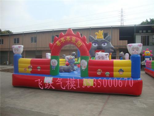 充气儿童娱乐城: 充气城堡