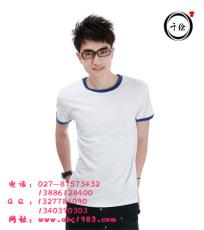 广告衫设计 广告衫制作黑色花边
