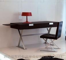 时欧家具 书房家具 书桌 书椅 定制家具厂