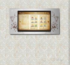 酒店客房智能控制系统床头控制板