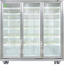 饮料展示柜三门展示柜便利店冰柜