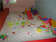 兒童游樂場專用圓粒白沙子