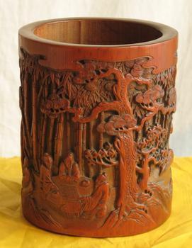 全国哪里的竹雕拍卖交易的价格最高