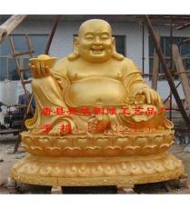 铜雕贴金佛像