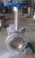 PZ73W-10P手動不銹鋼刀型閘閥