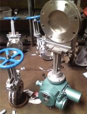 電動高溫刀型閘閥