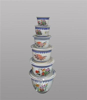 园林陶瓷小花盆