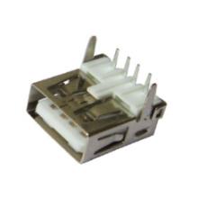 贴板式USB接口 A母座90度 T字形正向
